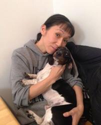 Yuuko with doggy