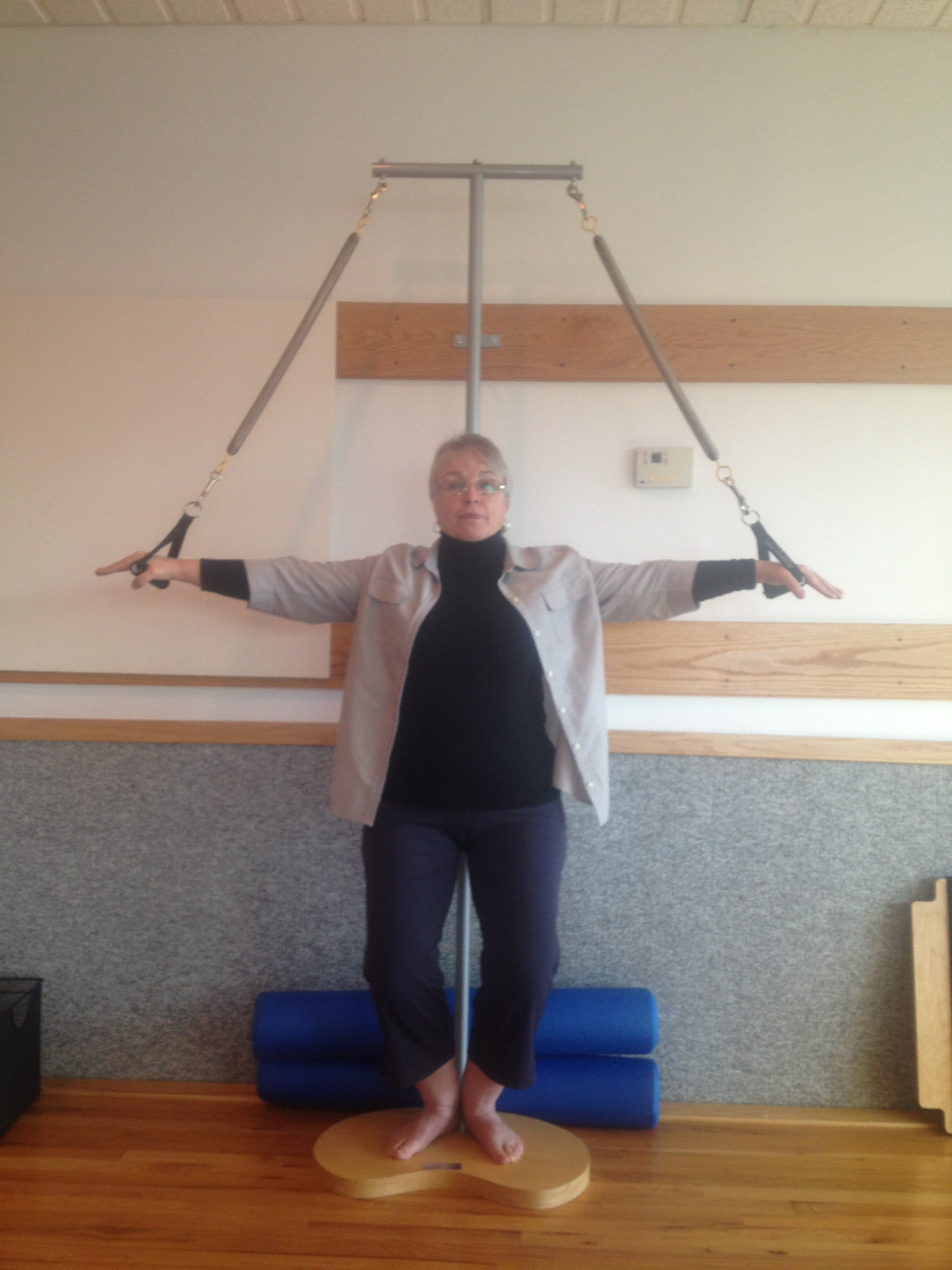 The Reverend Michelle Danson - Posture and Pilates
