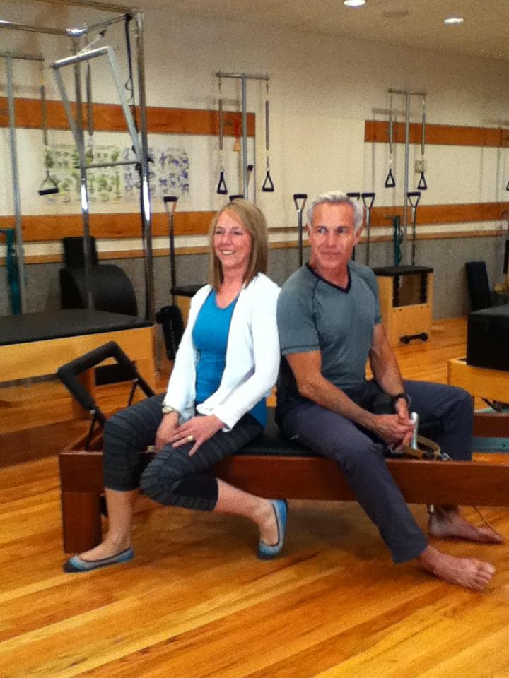 Kevin Bowan & Pat Guyton - pilates