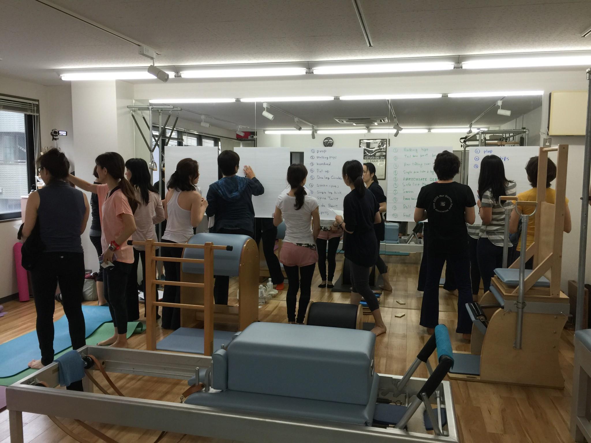 Pat Guyton Workshop Tour, Japan 2015